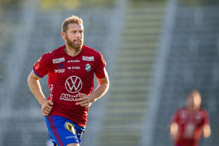 """Superettan: Östers lagkapten slutar efter säsongen: """"Mitt knä håller inte längre"""""""