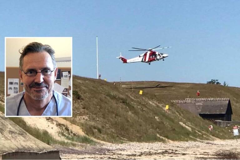Vårdpersonal saknar utbildning att arbeta i helikopter
