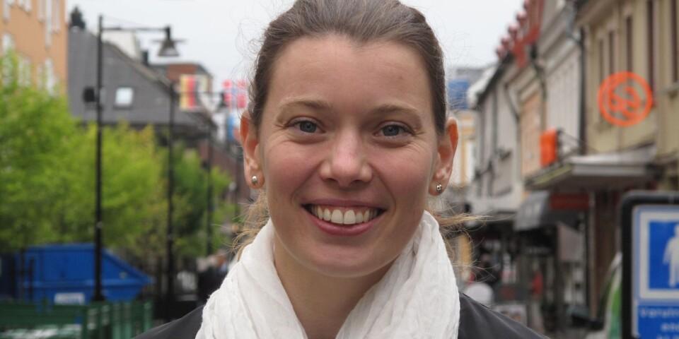 Karin Strindgård är handelsutvecklare i Karlshamns kommun.