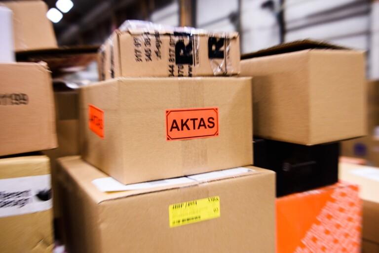 PostNords terminal i Växjö slår rekord
