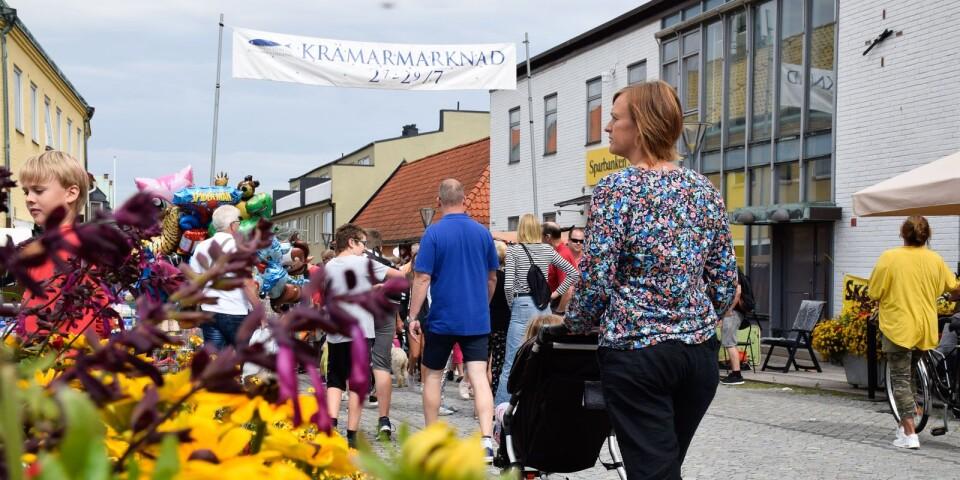 Arkivbild från Krämarmarknaden. I år äger marknaden rum 25-27 juli, torsdag klockan 10-19, fredag klockan 10-18 och lördag klockan 10-16.