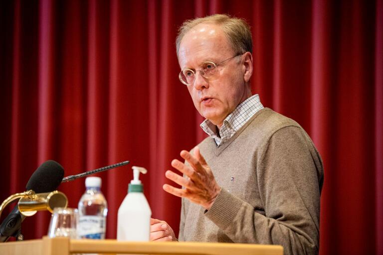 Smittskyddsläkare Bengt Wittesjö.