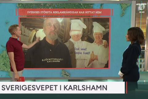 """Då flyttar """"Sveriges största reklamkändisar"""" från Blekinge"""