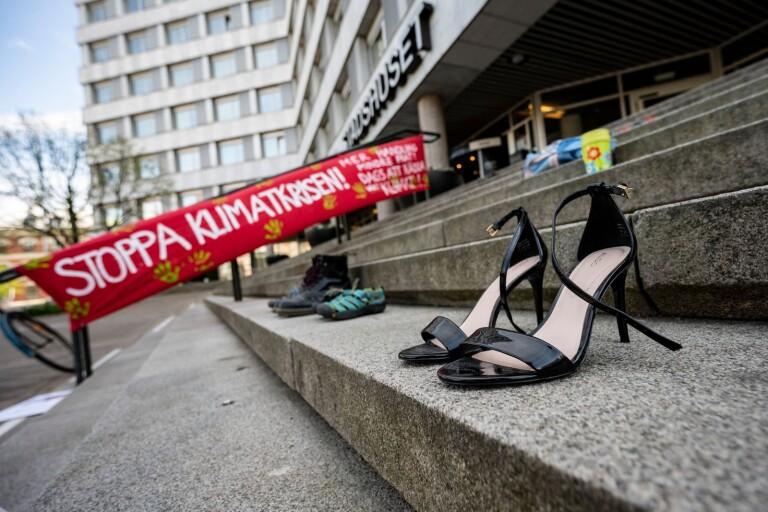 Rörelse planerar ny klimatstrejk i Växjö