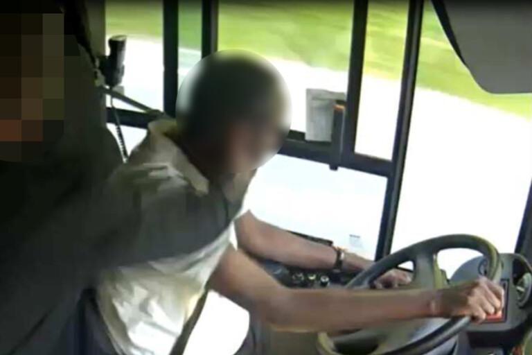48-åring slog busschaufför under färden – döms till fängelse