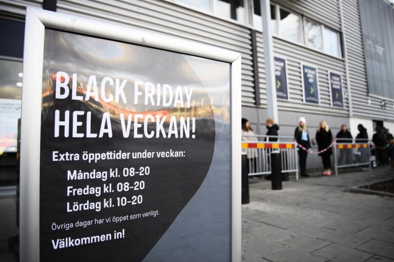 """Trots Black Friday-åtgärder – """"väldigt trångt"""""""