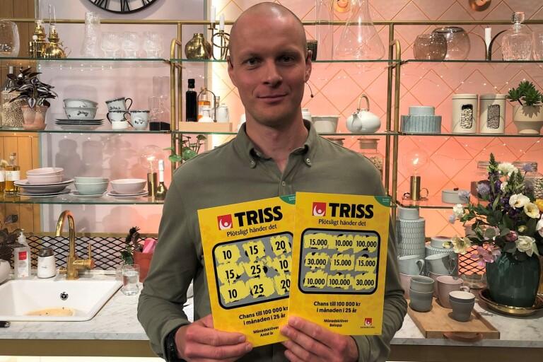 Boråsprofil vann miljonvinst på Triss
