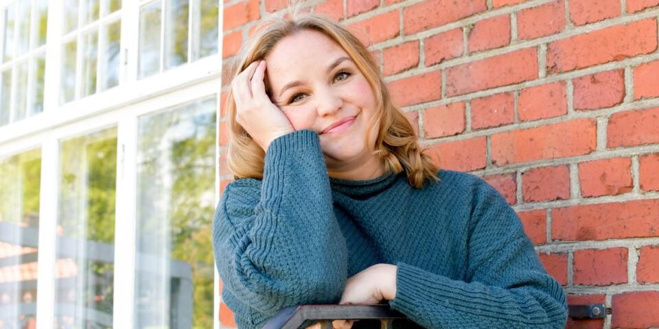 Inspirationen till sina böcker hämtar Emmy Abrahamson för det allra mesta från sitt eget liv.