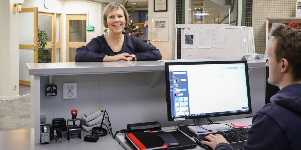 Jeanette Ovesson, kommunstyrelsens ordförande (M) i Simrishamns kommun gläds åt att kommunen återigen blivit nominerad till årets nyföretagarkommun, ett pris man erhöll för fem år sedan.