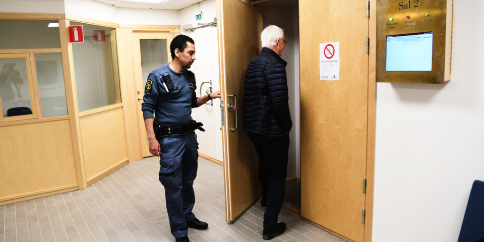 Häktningsförhandling i Stockholms tingsrätt mot den man som misstänks för explosionen på Östermalm i Stockholm i förra veckan.