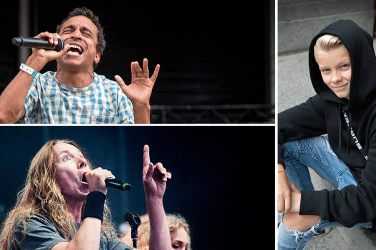 Youtubefenomen och 90-talsstjärna till årets Sommarrock