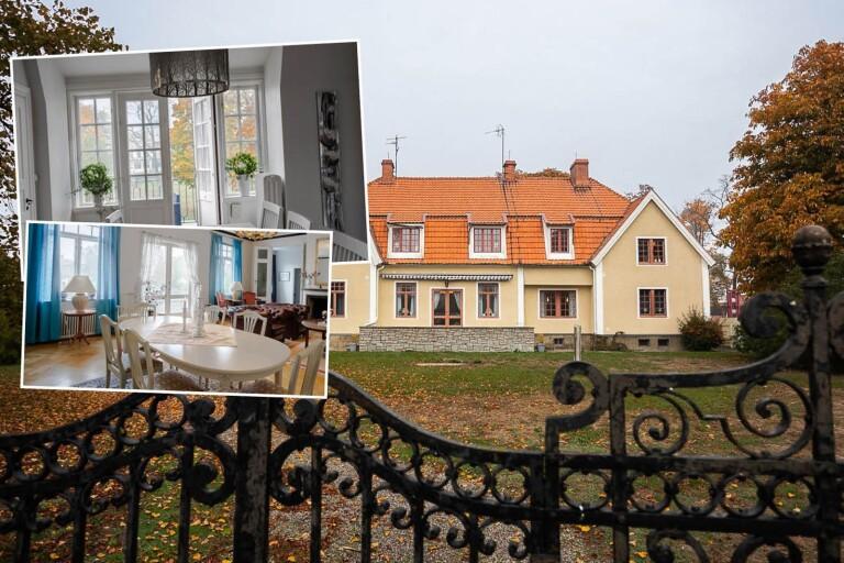 Pampiga Kalmarvillan är till försäljning – för 10 miljoner