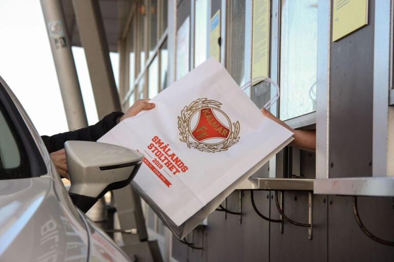Kalmar FF öppnar drive-through