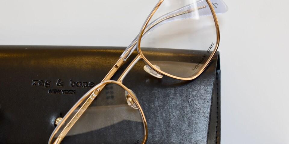 Stort och kantigt är en trend som är stark när det gäller höstens glasögon.