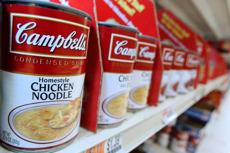 Intäkterna för Campbell Soup Company har ökat under coronapandemin. Arkivbild.