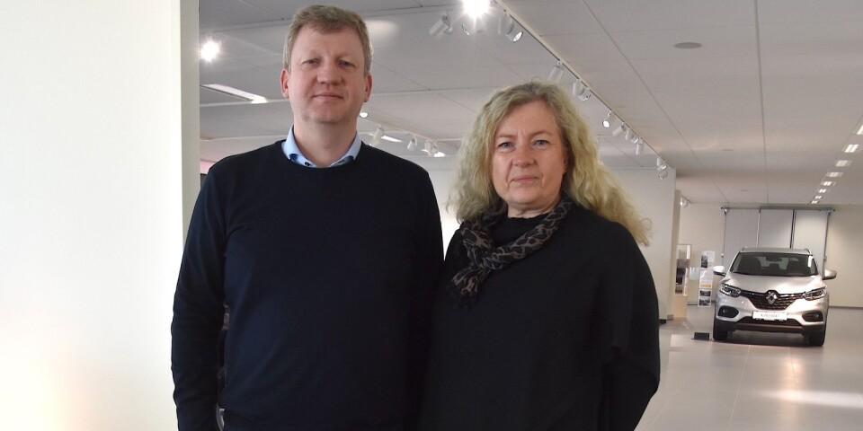 Syskonen, tillika delägarna, Olov och Gisela Bengtsson har stora ambitioner för och stora förhoppningar på den nya anläggningen i Simrishamn. De tycker sig ha löst bilmärkenas olika krav på ett utmärkt sätt, som ger kunderna stora valmöjligheter.