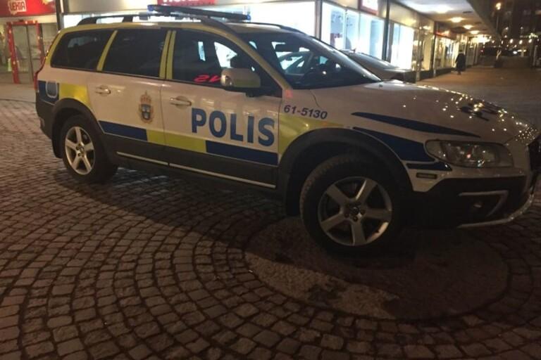 Polisen börjar med drönare i centrala Växjö
