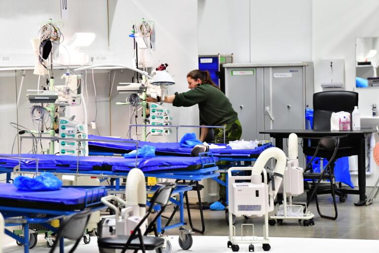 Fältsjukhuset i Älvsjö avvecklas omedelbart