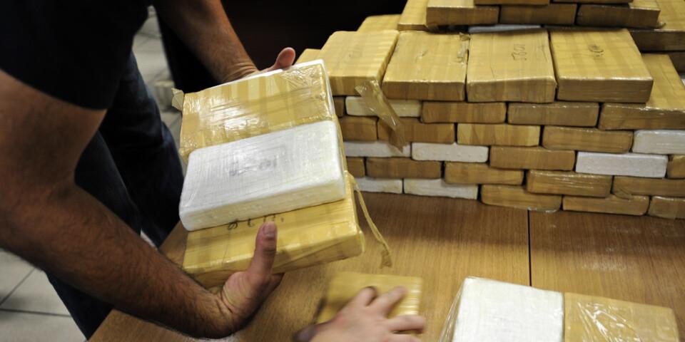 Stort kokainbeslag i Grekland