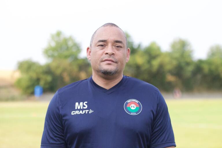 Malik Sesay, tränare, FC Trelleborg.