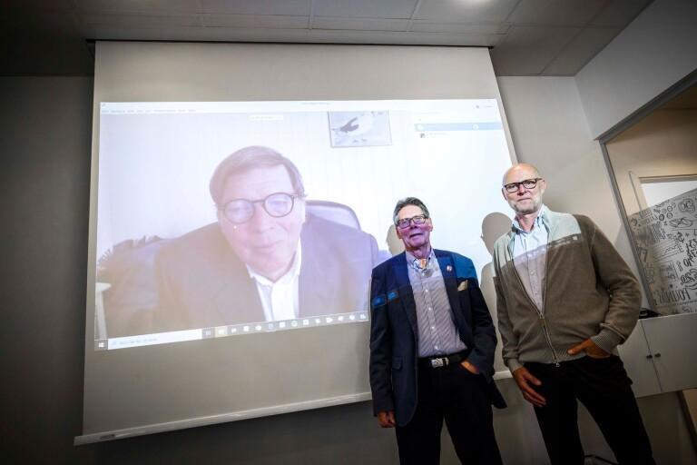 Boråsföretag presenterar sitt världspatent på ny motor