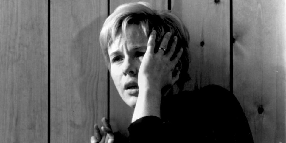"""Huvudrollen i Ingmar Bergmans """"Persona"""" brukar räknas som Bibi Anderssons allra främsta filminsats. Arkivbild."""