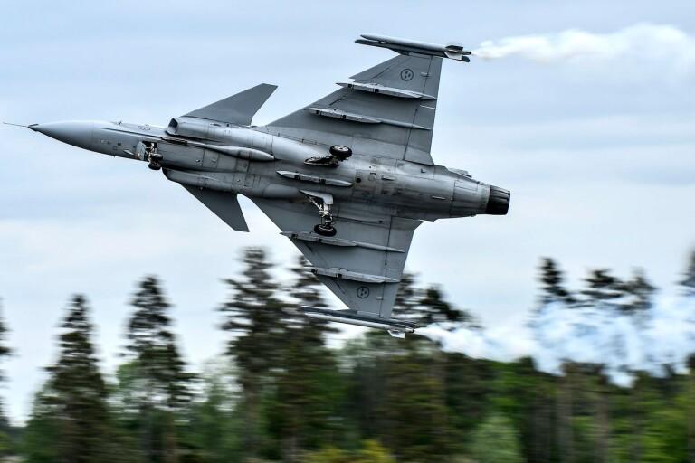 Jas 39 Gripen: F17 utökar lågflygningar över Småland