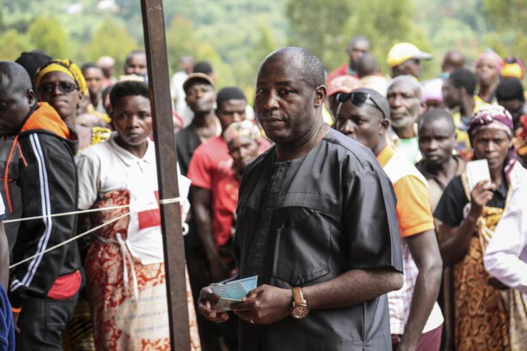 Regeringspartiets kandidat Evariste Ndayishimiye vann presidentvalet i Burundi. Arkivbild