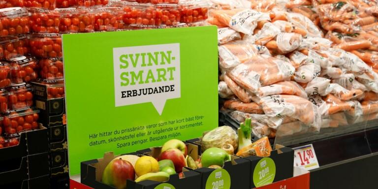 """Så minskar butiken matsvinnet: """"Kunderna uppskattar det"""""""