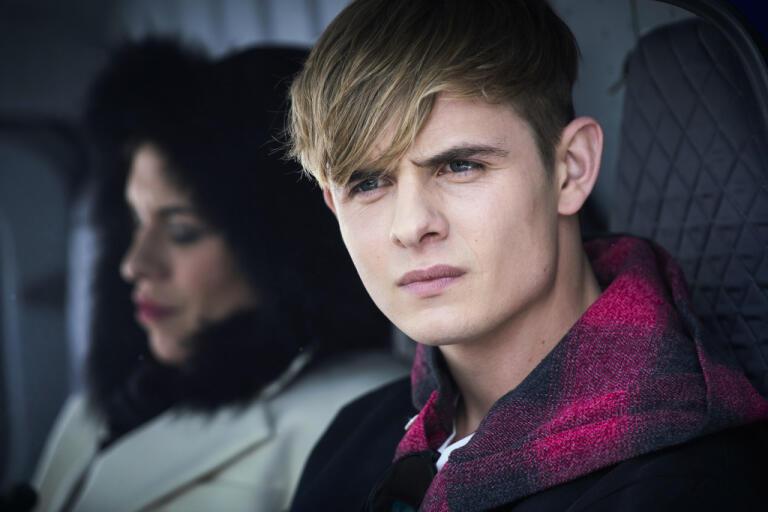 Otto Farrant spelar tonårsagenten Alex Rider. Pressbild.