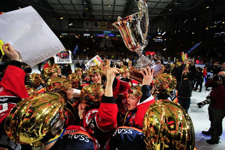 Luleå firar SM-guldet 2019. Arkivbild.