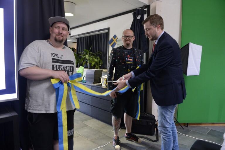 """Unik spelutbildning invigdes: """"Smålands spelmekka"""""""