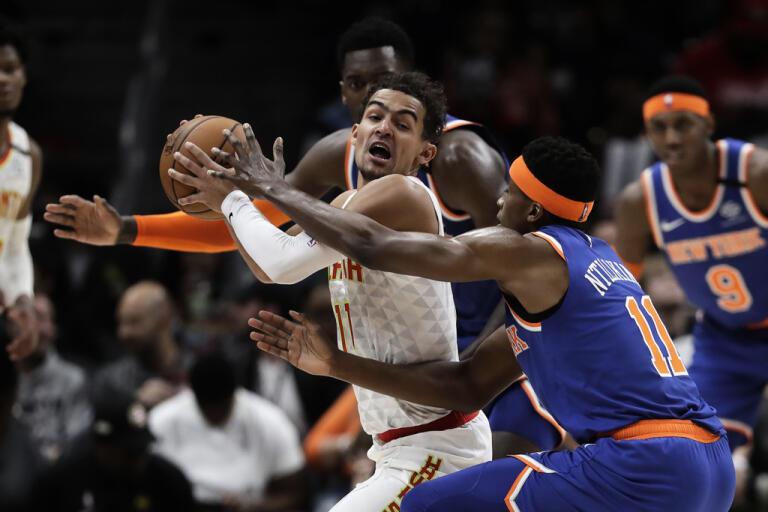 Atlanta mötte New York Knicks den 11 mars. Sedan dess har NBA legat nere på grund av coronapandemin.