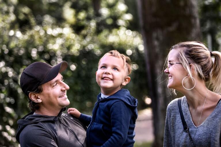 Tumören ger 4-årige Caspian ett par år kvar i livet