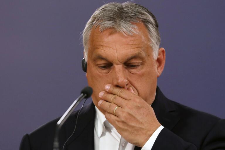 Ungerns premiärminister Viktor Orbán är skeptisk till EU-kommissionens stödplaner mot coronakrisen. Arkivfoto.