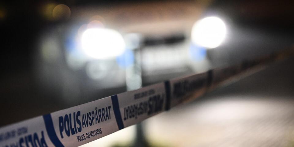 En man har anhållits skäligen misstänkt för försök till mord vid tunnelbanestationen Hässelby gård i nordvästra Stockholm. Arkivbild.