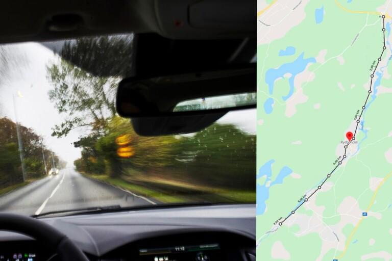 Ung man döms för vansinneskörning förbi skola – körde i uppåt 200 km/h