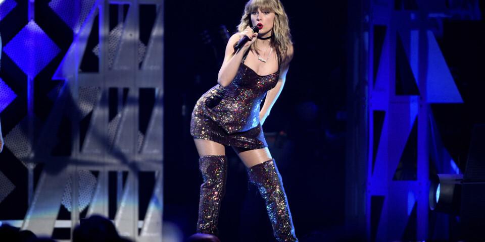 Taylor Swift uppträdde i Madison Square Garden på sin 30-årsdag. Nästa år är hon ett av Glastonburyfestivalens största namn. Arkivbild.