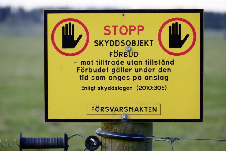 Tre män från Ljungby kommun har nu dömts för att ha vistats inom ett militärt skyddsobjekt.