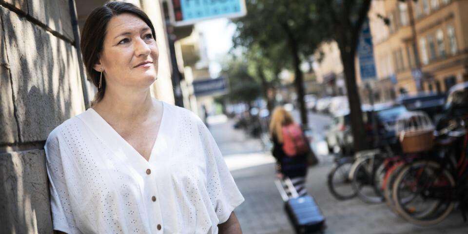 Susanna Gideonsson som offentligt meddelat sin kandidatur. Men vill hon fortfarande? Arkivbild.