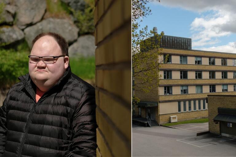 Andreas Hallin samlar namn i försök att rädda kvar Östermalms bageri.
