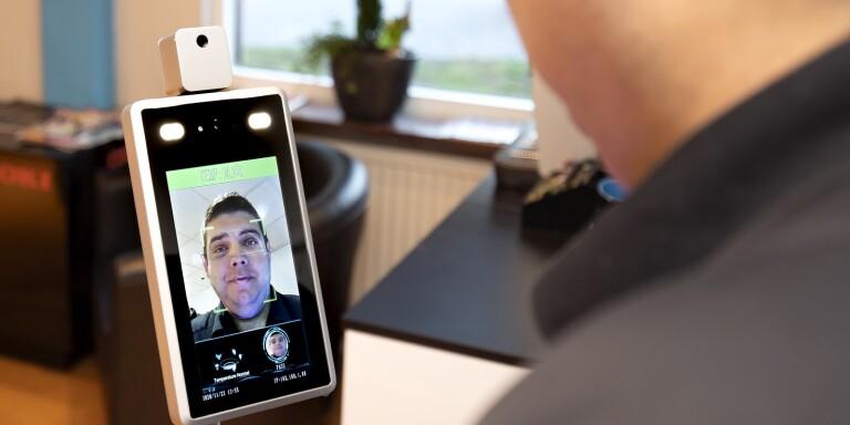 Digitala febertestare finns nu på lokala företag i Blekinge