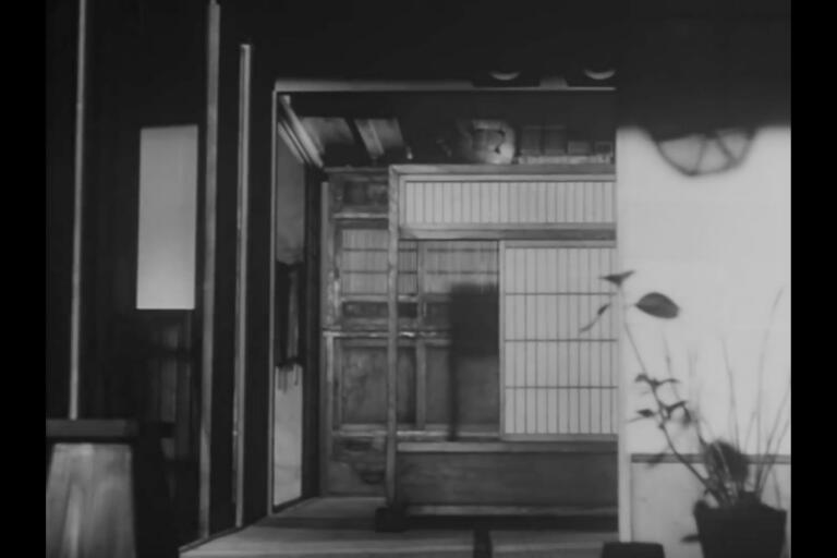 "Stillbild ur Yuko Mohris film ""Everything flows - distance""."