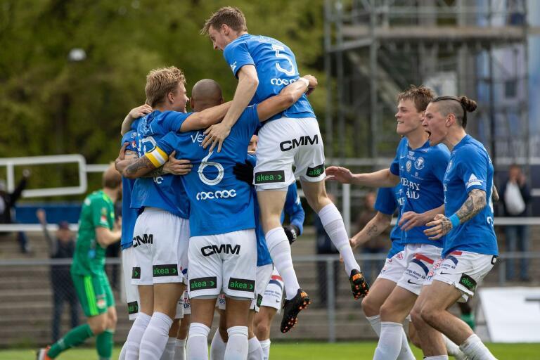 För en vecka sedan kom årets första seger i superettan för TFF. Men mot Frej fick TFF kämpa sig till en poäng.