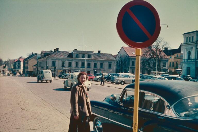 1960-tals diabilder - Växjö då och nu, del 48
