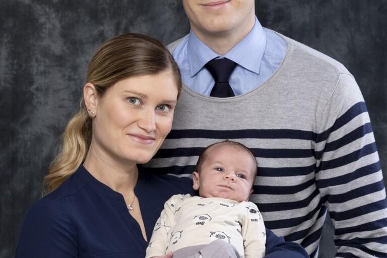 Maria Andersson och Mattias Hagman