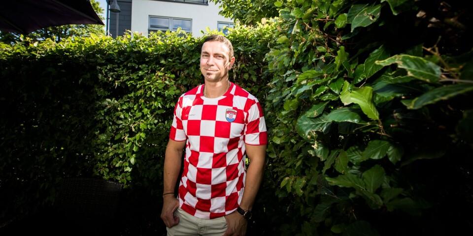 """Båda boråsaren Stefan Krajacics båda favoritlag spelar VM-kvartsfinal under lördagen. """"Det kan inte bli bättre än så. Vi får hoppas att båda vinner,"""" säger han."""