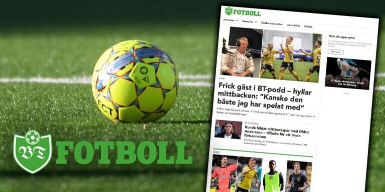 Här är BT:s nya fotbollssajt