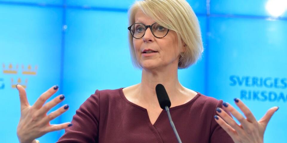 """STOCKHOLM 20200323Moderaternas ekonomisk-politiska talesperson, Elisabeth Svantesson: """"Det är nu, inte efteråt, vi har möjlighet att minimera coronas effekt på jobben.  Därför hoppas vi att regeringen också är redo."""""""