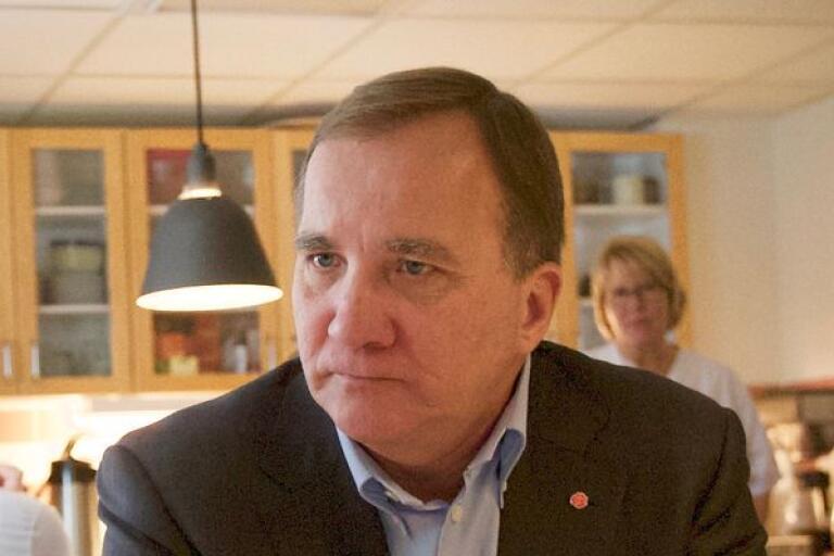Stefan Löfven menar att S har ett arbete framför sig för att vinna tillbaka förtroendet hos väljarna.